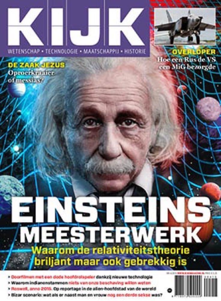 Marco Lap Cover-Einstein