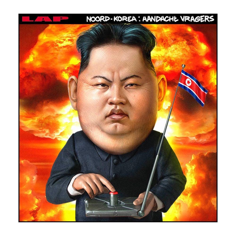 Marco Lap Noord korea