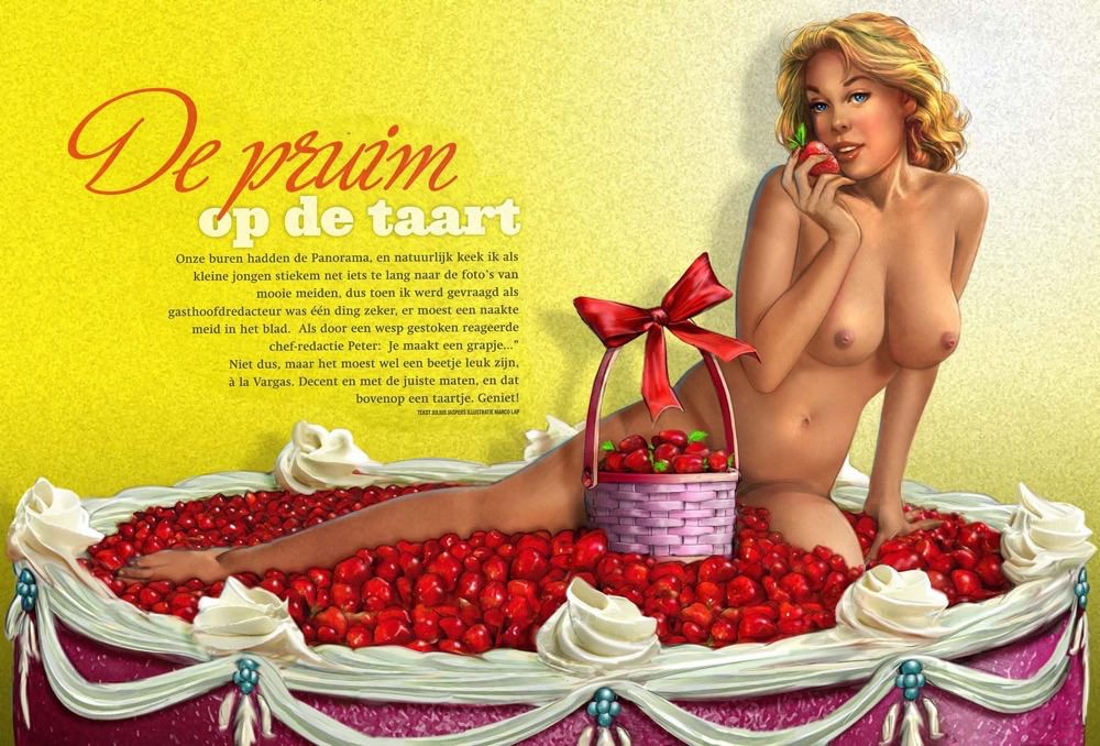 Marco Lap Pin Up spread