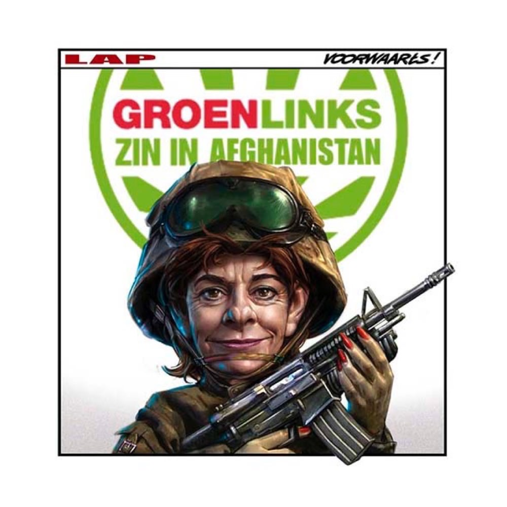 Marco Lap afganistan groen links